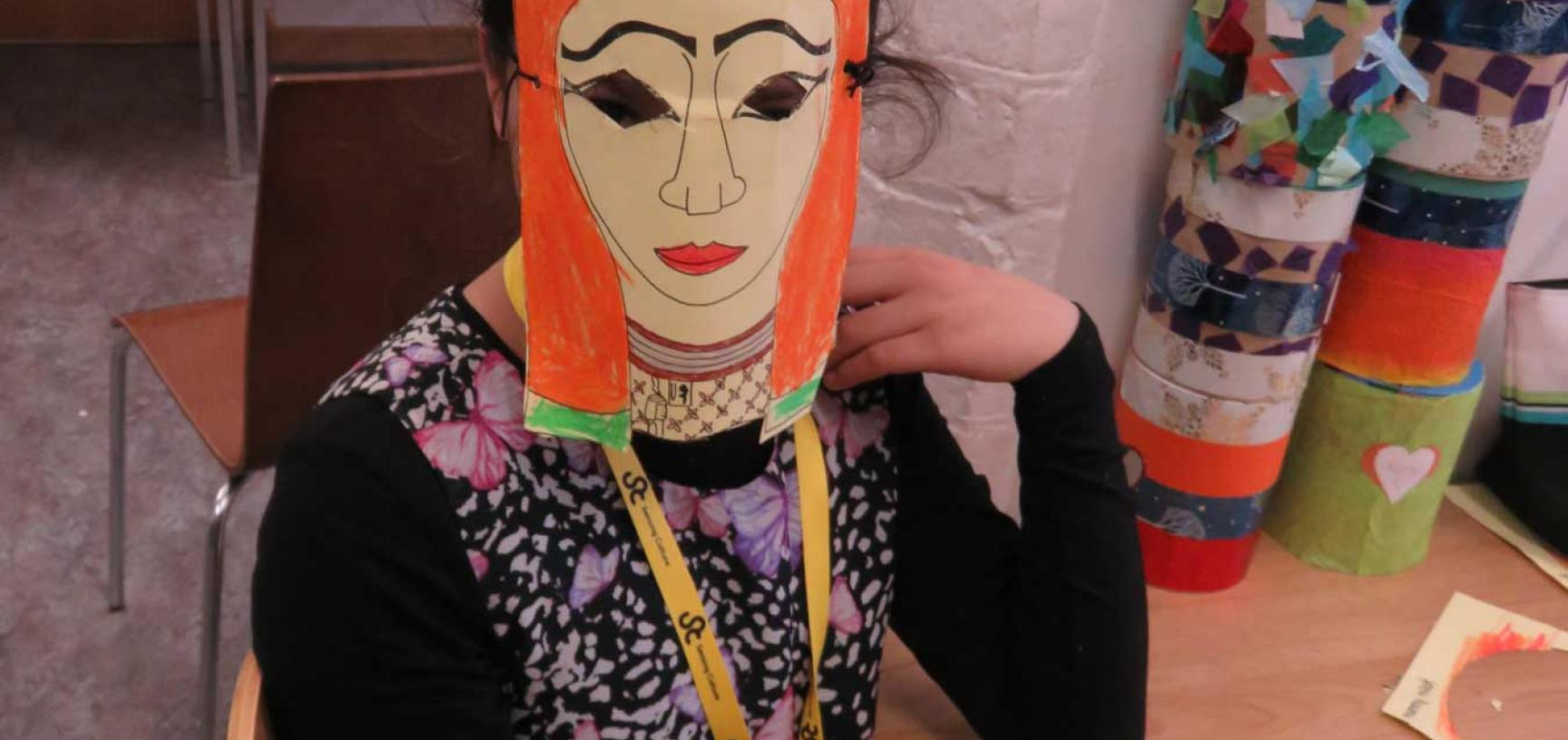 refugee resource family day mask
