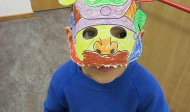 refugee resource family day masks