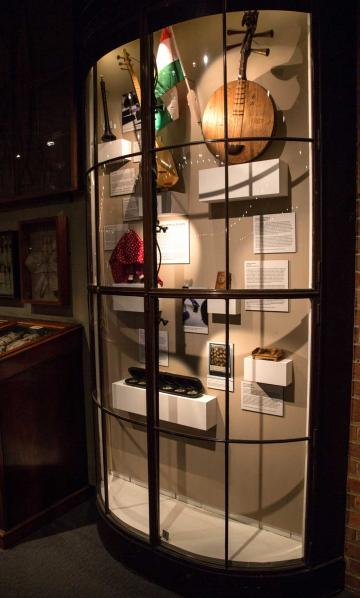 Identity Without Borders display in the museum